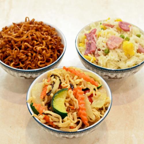 garniture au choix pad thai riz cantonais nouilles aux legumes